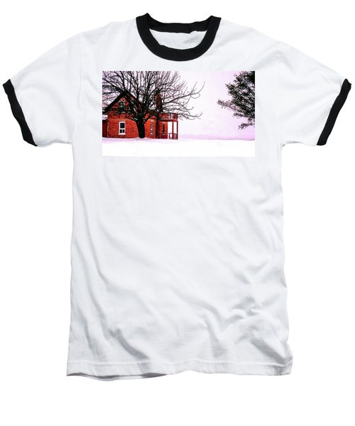 Winter Retreat Baseball T-Shirt