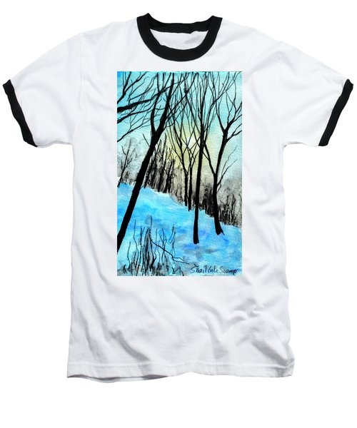 Winter Sunlight Baseball T-Shirt