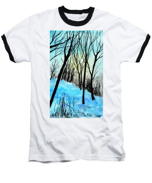 Winter Sunlight Baseball T-Shirt