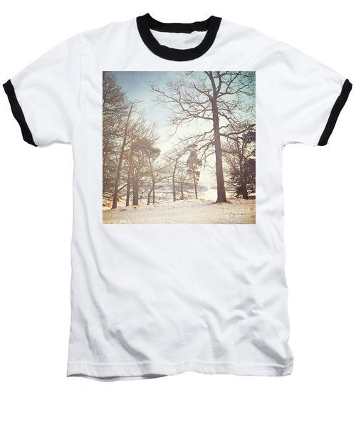 Baseball T-Shirt featuring the photograph Winter Trees by Lyn Randle