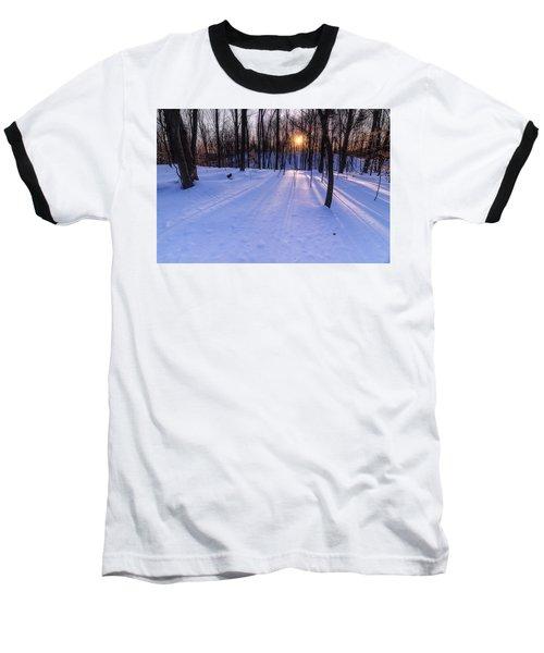Winter Walks Continue Baseball T-Shirt