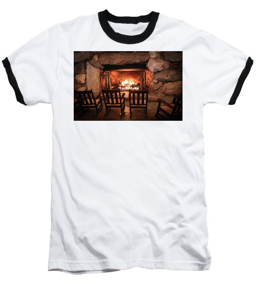 Baseball T-Shirt featuring the photograph Winter Warmth by Karen Wiles
