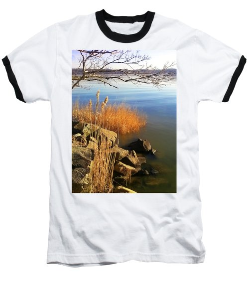 Winter Water Baseball T-Shirt