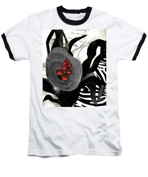 Winterberries Baseball T-Shirt by Sarah Loft