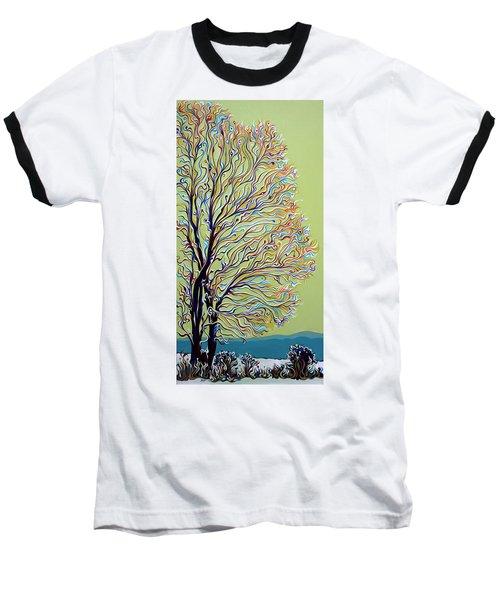 Wintertainment Tree Baseball T-Shirt