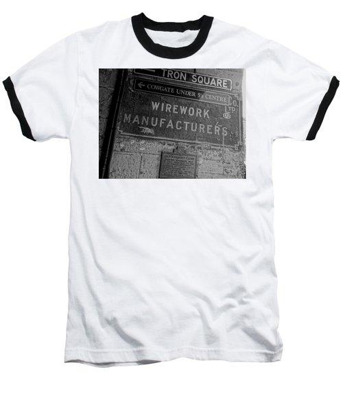 Wirework Baseball T-Shirt by Eduardo Abella