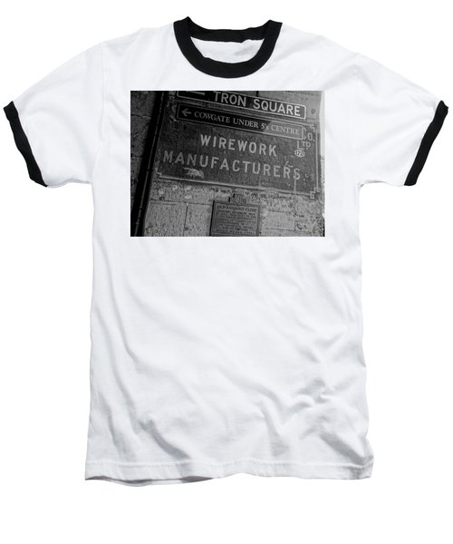Wirework Baseball T-Shirt