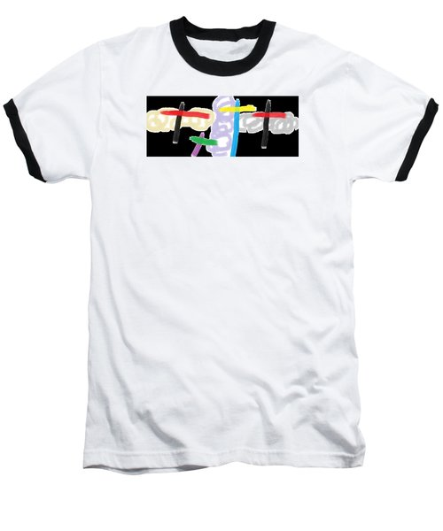 Wish - 55 Baseball T-Shirt by Mirfarhad Moghimi