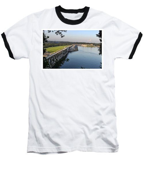 Wolf Creek Dam Baseball T-Shirt