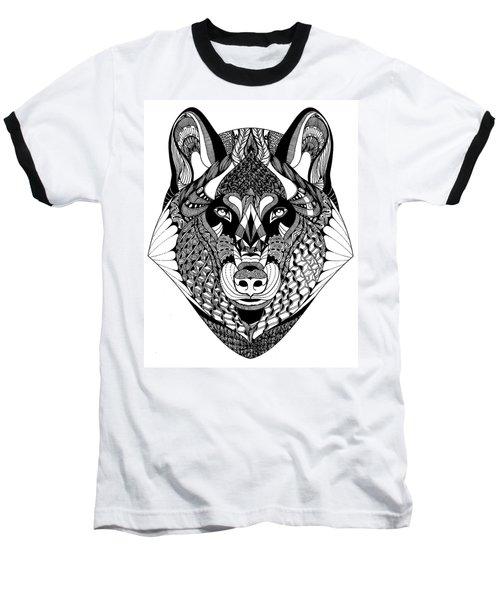 Wolf Baseball T-Shirt
