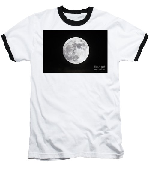 Wolf Moon Baseball T-Shirt