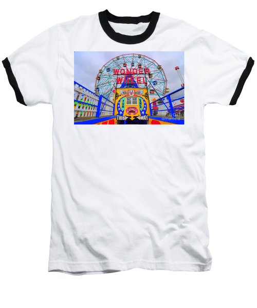 Wonder Wheel Baseball T-Shirt