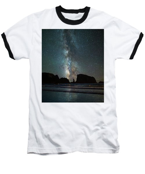 Baseball T-Shirt featuring the photograph Wonders Of The Night by Darren White