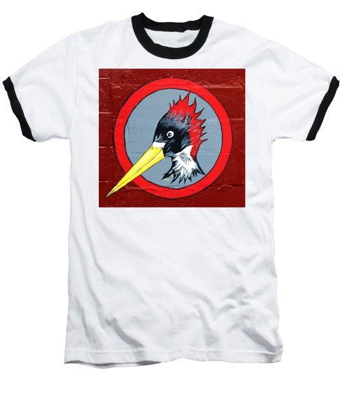 Wood Pecker Baseball T-Shirt