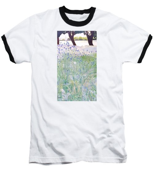 Woodford Park In Woodley Baseball T-Shirt by Joanne Perkins
