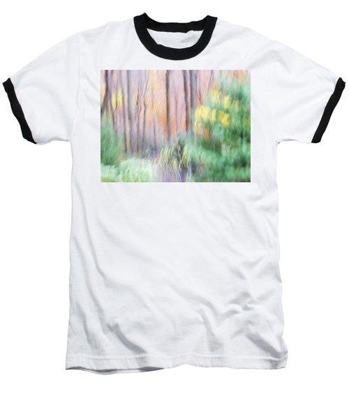 Woodland Hues 2 Baseball T-Shirt by Bernhart Hochleitner