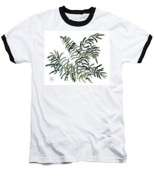 Woodland Maiden Fern Baseball T-Shirt