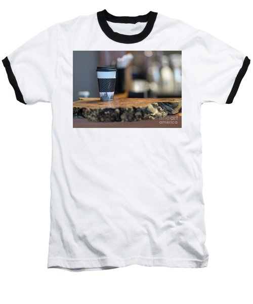 Baseball T-Shirt featuring the photograph Woods Coffee by Jim  Hatch