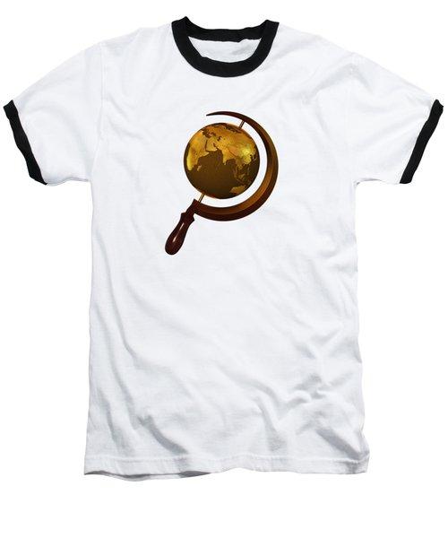 Workers Of The Globe Baseball T-Shirt