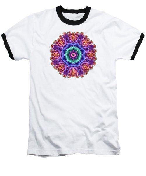 Wreath Of Satin Roses Baseball T-Shirt