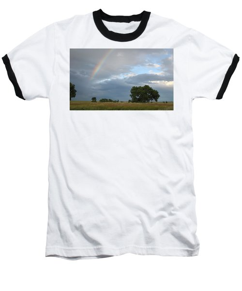 Wyoming Rainbow Baseball T-Shirt