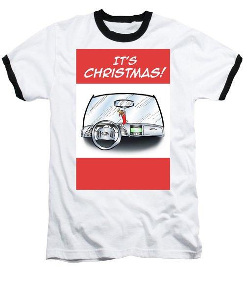Hang Up Stocking Baseball T-Shirt