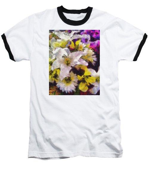 Xtreme Floral Six The White Star Baseball T-Shirt