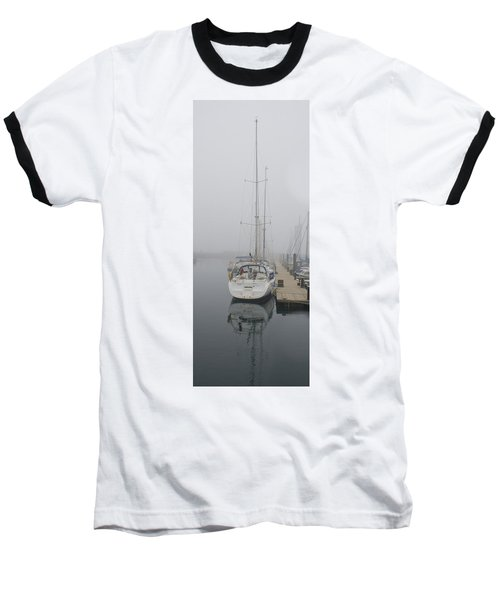Yacht Doesn't Go In The Fog Baseball T-Shirt