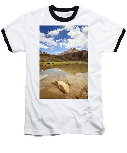 Yaks In Ladakh Baseball T-Shirt