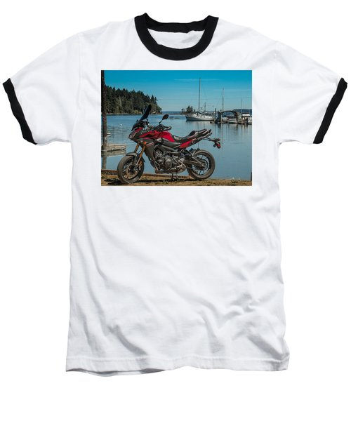 Yamaha Fj-09 .6 Baseball T-Shirt by E Faithe Lester