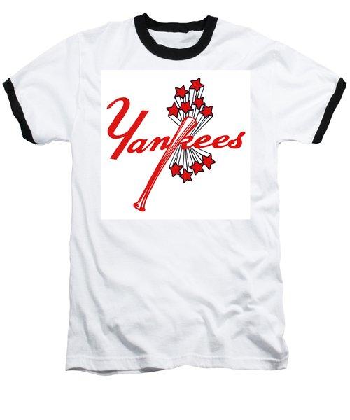 Yankees Vintage Baseball T-Shirt by Gina Dsgn