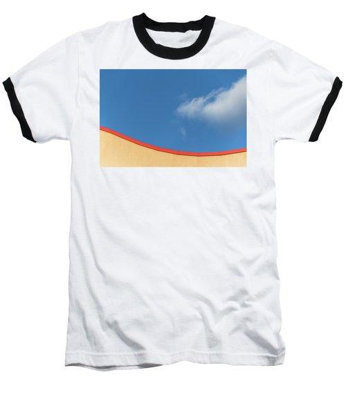 Yellow And Blue - Baseball T-Shirt