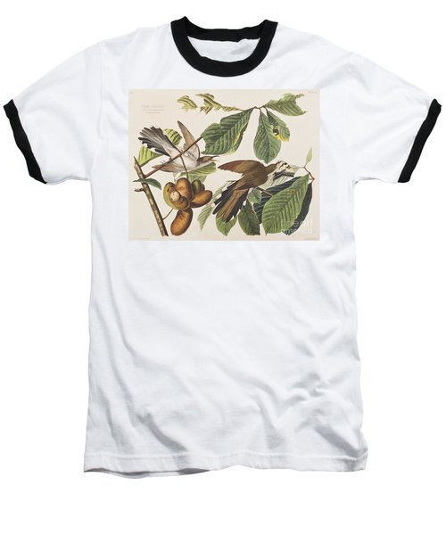 Yellow Billed Cuckoo Baseball T-Shirt
