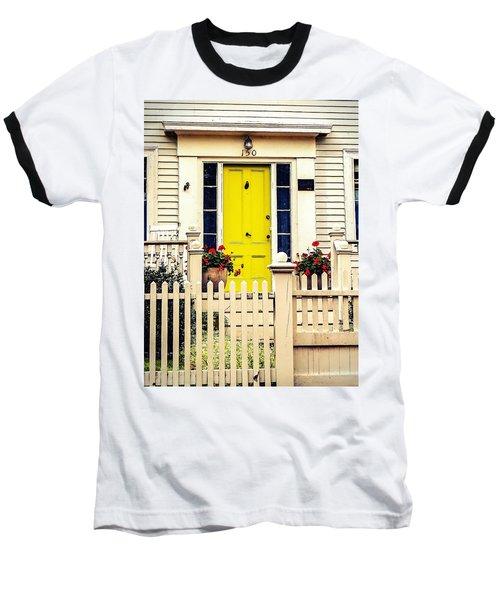 Yellow Door Baseball T-Shirt