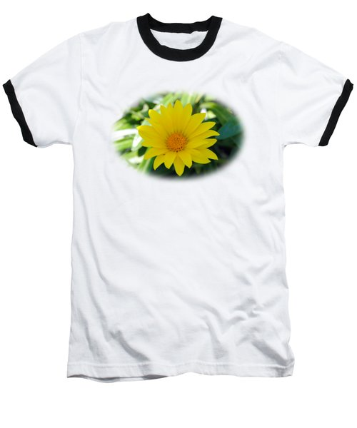 Yellow Flower T-shirt Baseball T-Shirt