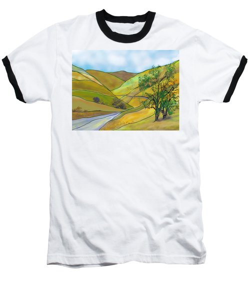 Yellow Foothills Baseball T-Shirt