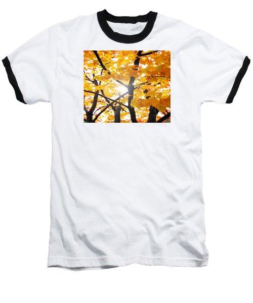 Yellow Light Baseball T-Shirt