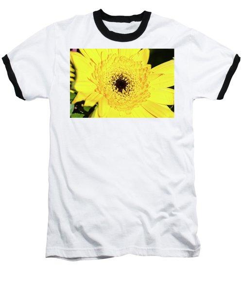 Yellow Pedal Baseball T-Shirt