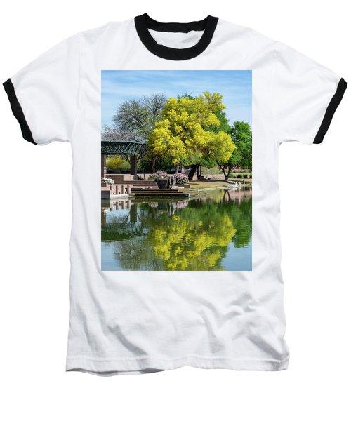 Yellow Reflection Baseball T-Shirt