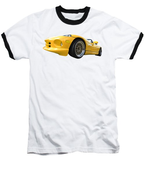 Yellow Viper Rt10 Baseball T-Shirt