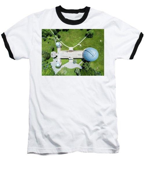 Baseball T-Shirt featuring the photograph Yerkes Observatory by Randy Scherkenbach