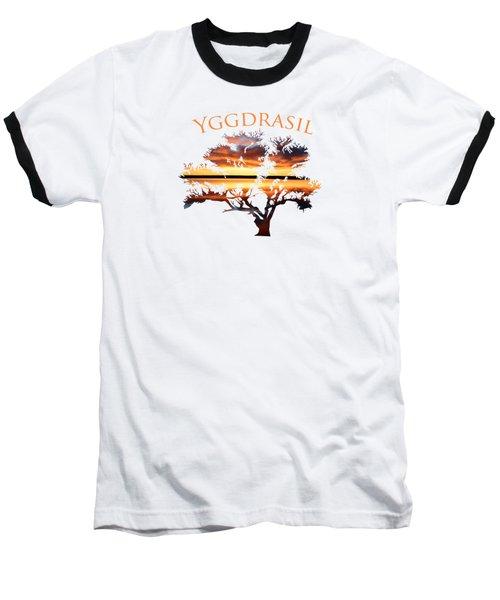 Yggdrasil- The World Tree 2 Baseball T-Shirt