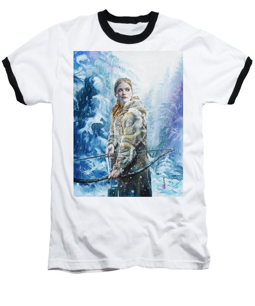 Ygritte The Wilding Baseball T-Shirt