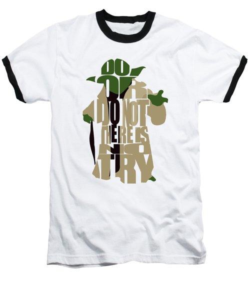 Yoda - Star Wars Baseball T-Shirt
