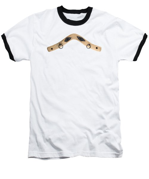 Baseball T-Shirt featuring the photograph Yoke - Part Of Harnesses For The Draft Animals by Michal Boubin