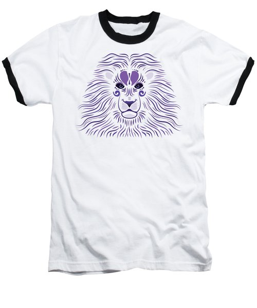 Yoni The Lion - Light Baseball T-Shirt