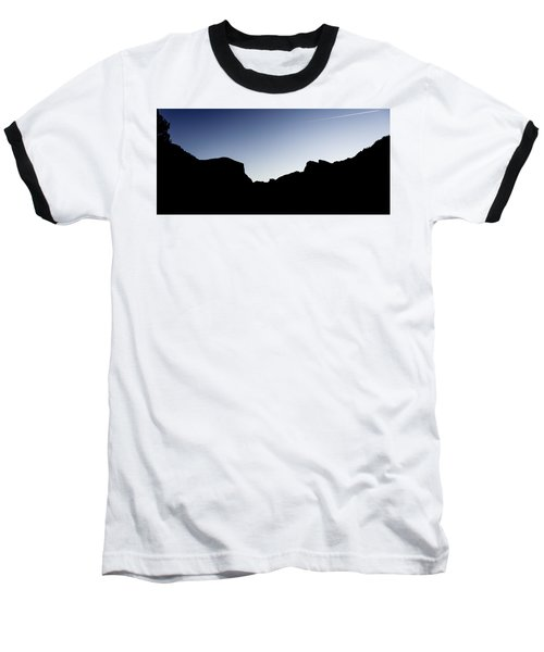 Yosemite In Silhouette Baseball T-Shirt