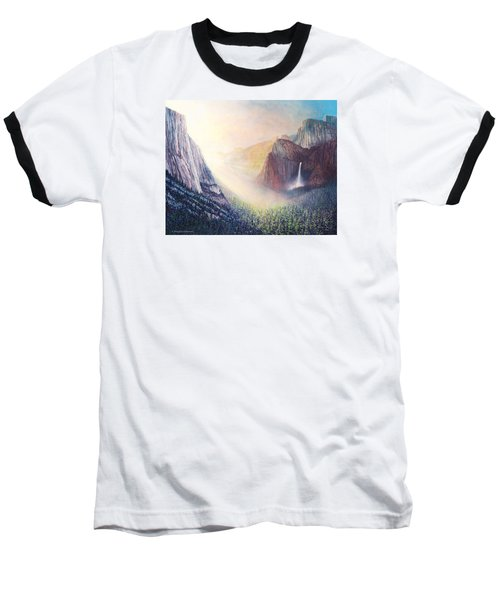 Yosemite Morning Baseball T-Shirt by Douglas Castleman