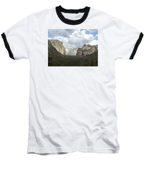 Yosemite Valley Yosemite National Park Baseball T-Shirt