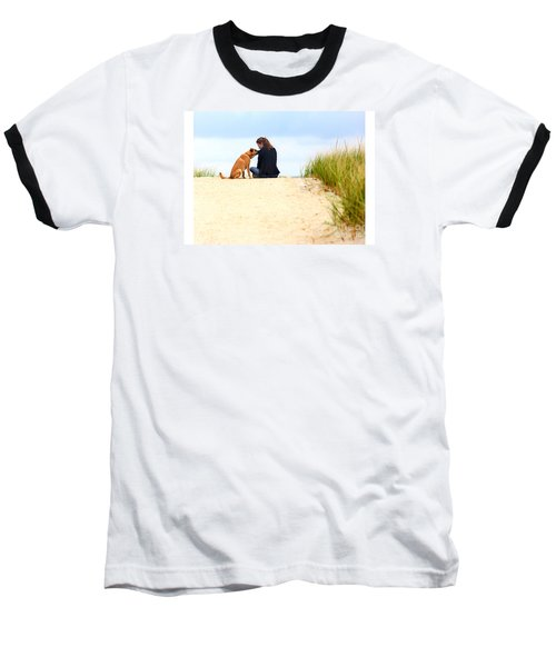 Baseball T-Shirt featuring the photograph You Are My Sunshine by Dana DiPasquale